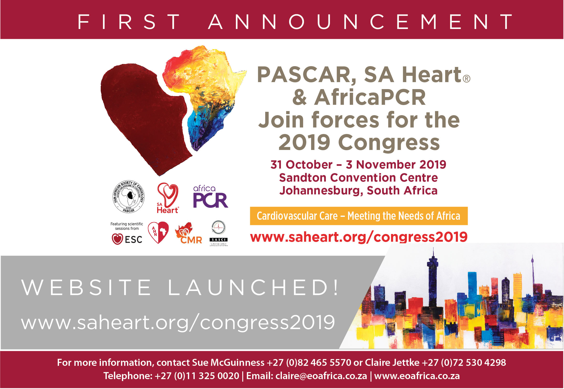 PASCAR SA Heart 2019 1st Announcement Revised Announcement Dec 2018 02 xx